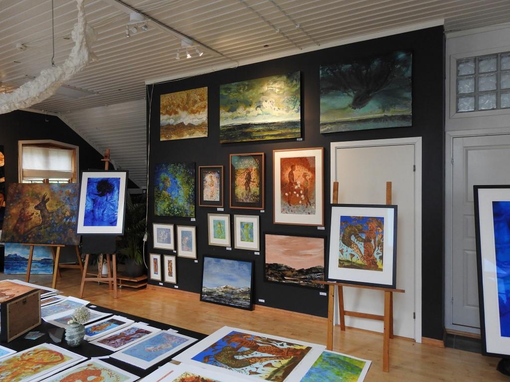 Fra galleriet til Kikki Hovland